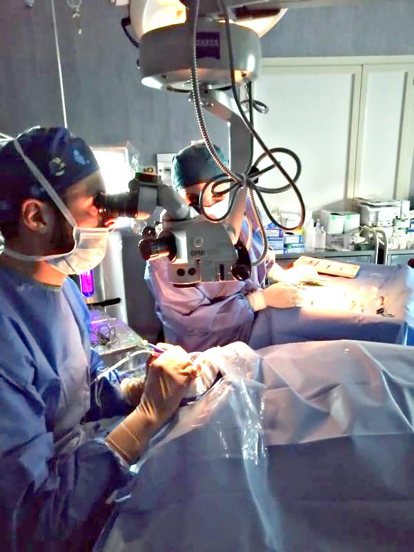 Chirurgia Oculistica Dr. Mario Sangiuolo